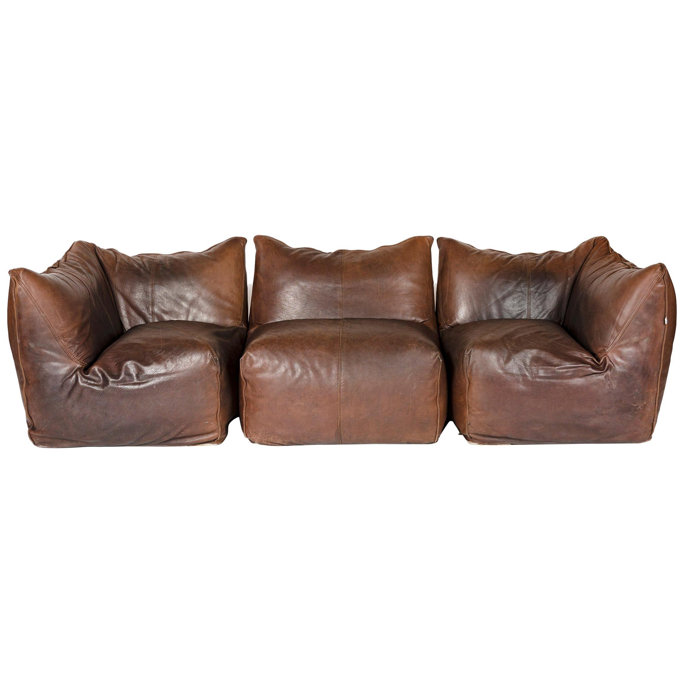 1970s Le Bambole Sectional Sofa by Mario Bellini for B&B Italia