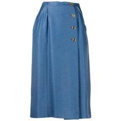 1970s Louis Feraud Wrap-around Skirt