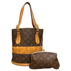1970s LOUIS VUITTON Monogram Bucket Bag - Under Special License to the French Co