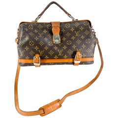 1970s Louis Vuitton Monogram Doctors Bag
