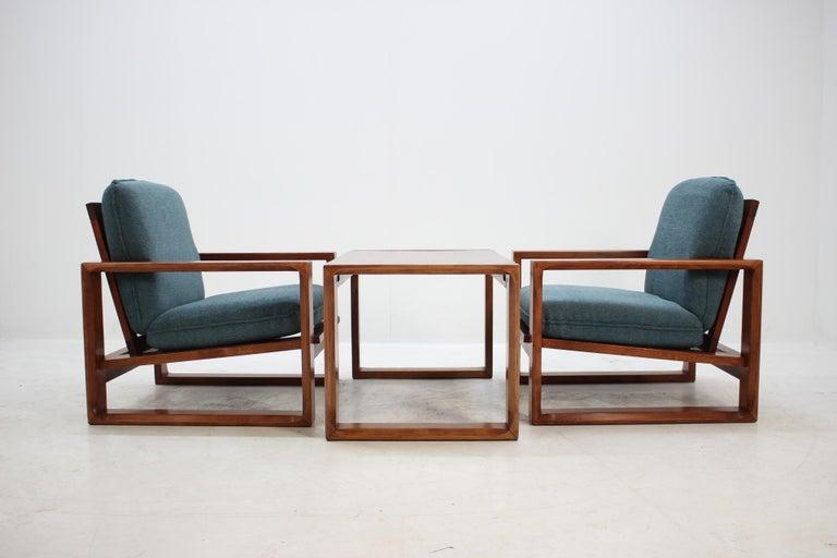 Mid-Century Modern 1970s Lounge Set from Miroslav Navratil For Sale