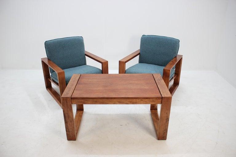 Fabric 1970s Lounge Set from Miroslav Navratil For Sale