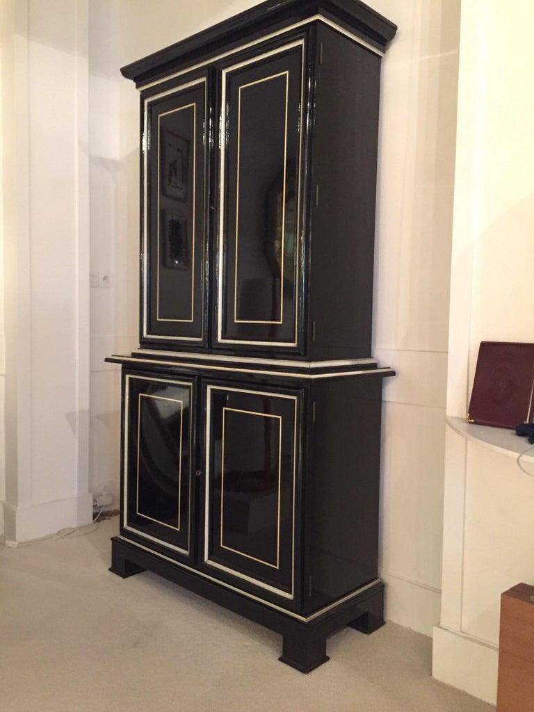 Neoclassical Revival 1970s Maison Jansen Cabinet For Sale