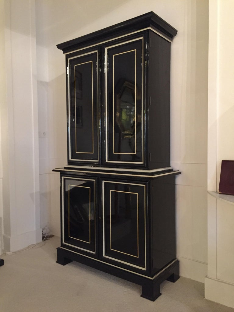 French 1970s Maison Jansen Cabinet For Sale