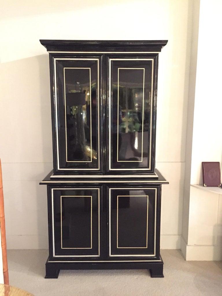 1970s Maison Jansen Cabinet In Good Condition For Sale In Saint-Ouen, FR