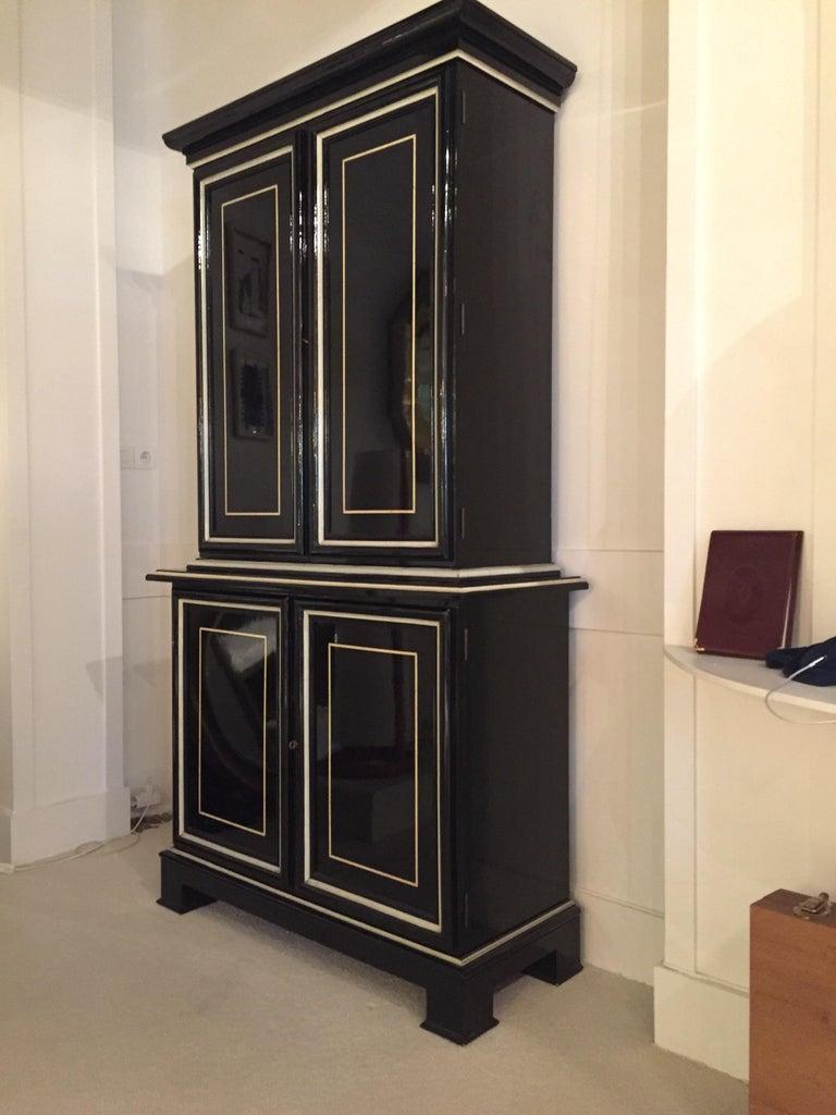 Late 20th Century 1970s Maison Jansen Cabinet For Sale