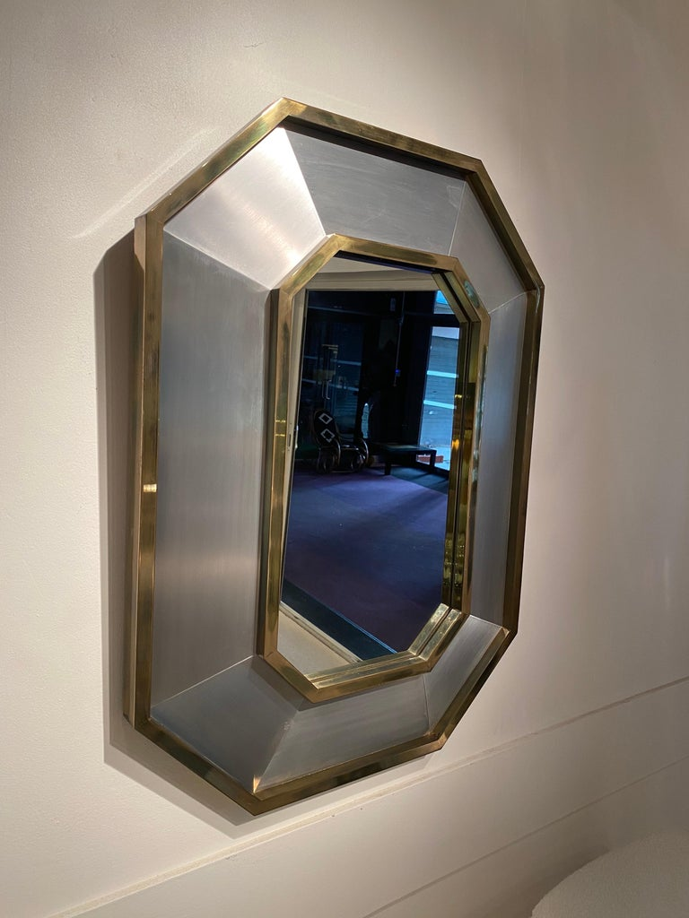 French 1970s Maison Jansen Mirror For Sale