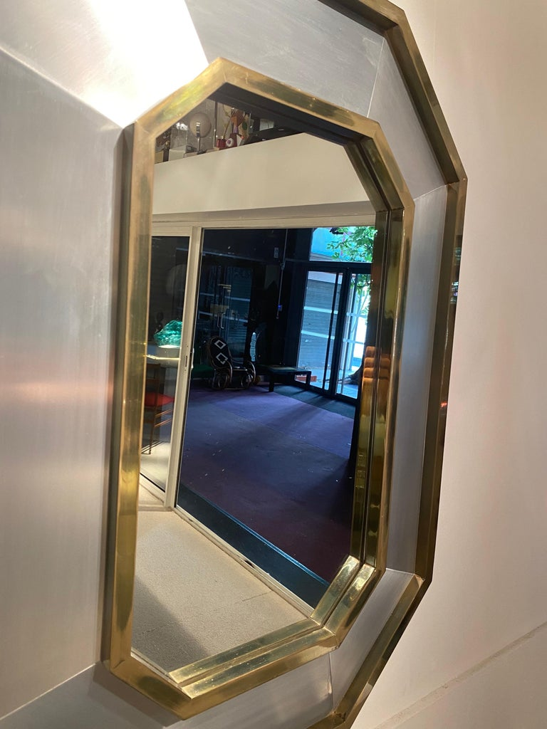 1970s Maison Jansen Mirror In Good Condition For Sale In Saint-Ouen, FR