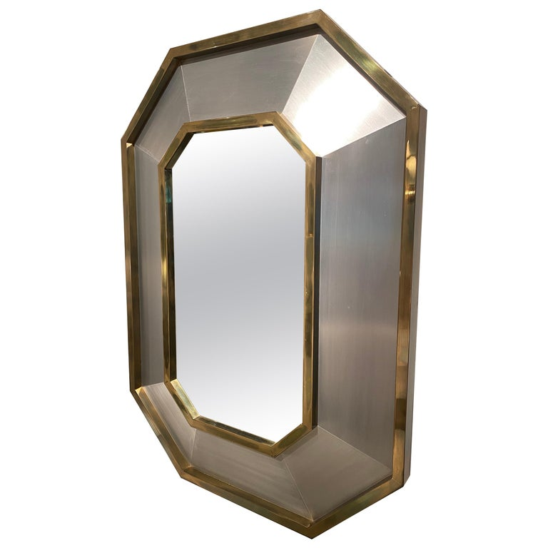 1970s Maison Jansen Mirror For Sale