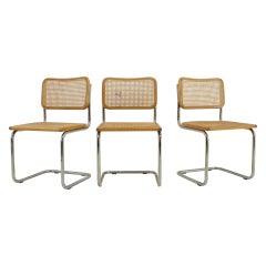 """1970s Marcel Breuer """"Cesca"""" Chair, Italy"""