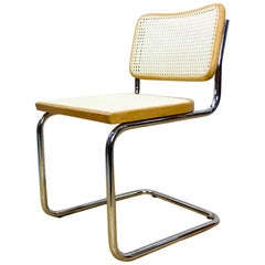 1970s Marcel Breuer for Cidue B32 Cesca Chairs, Set of 6