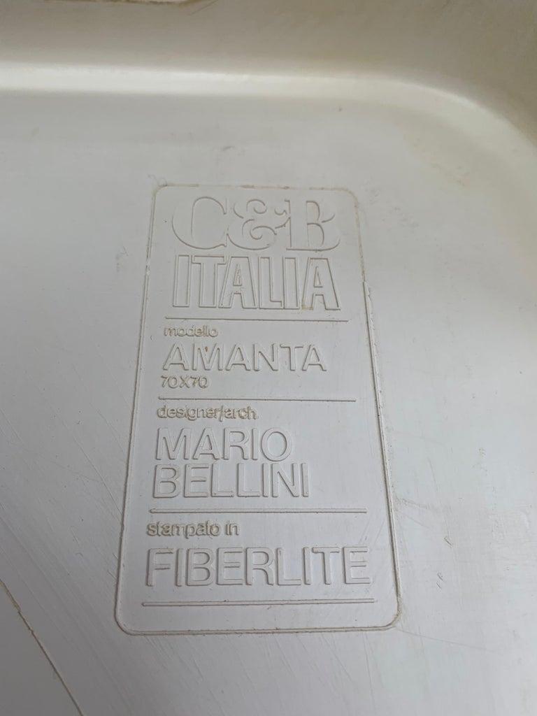 1970s Mario Bellini C & B Italia 'Amanta' Sofa & Coffee Table 7