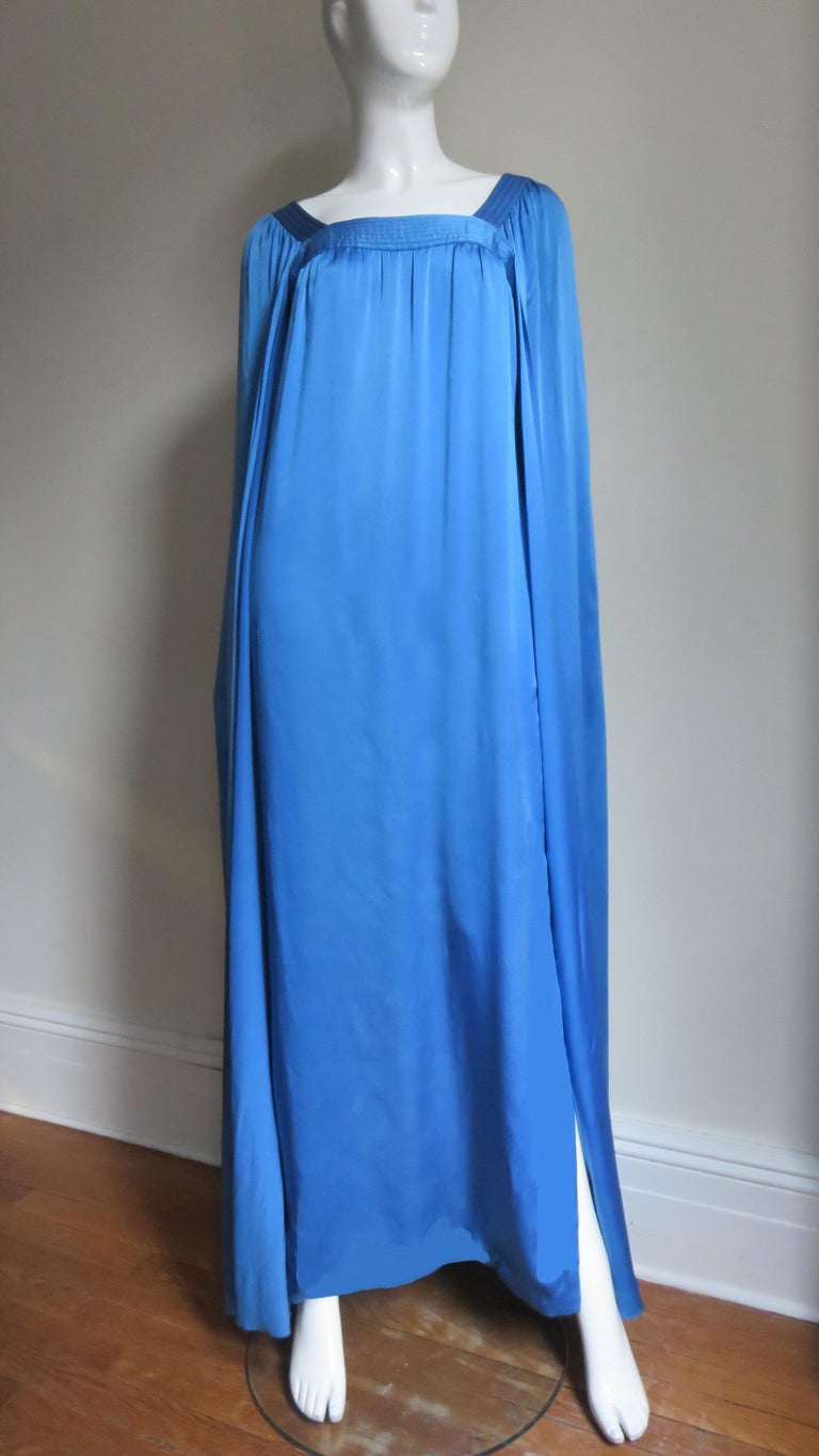 Mark Bohan for Christian Dior Couture Numbered Gown 1970s For Sale 4