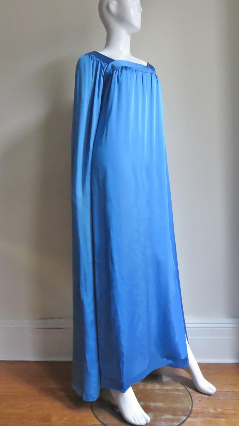 Mark Bohan for Christian Dior Couture Numbered Gown 1970s For Sale 5