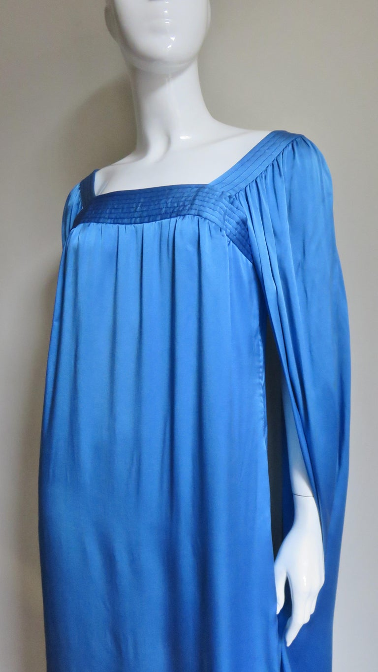 Mark Bohan for Christian Dior Couture Numbered Gown 1970s For Sale 1