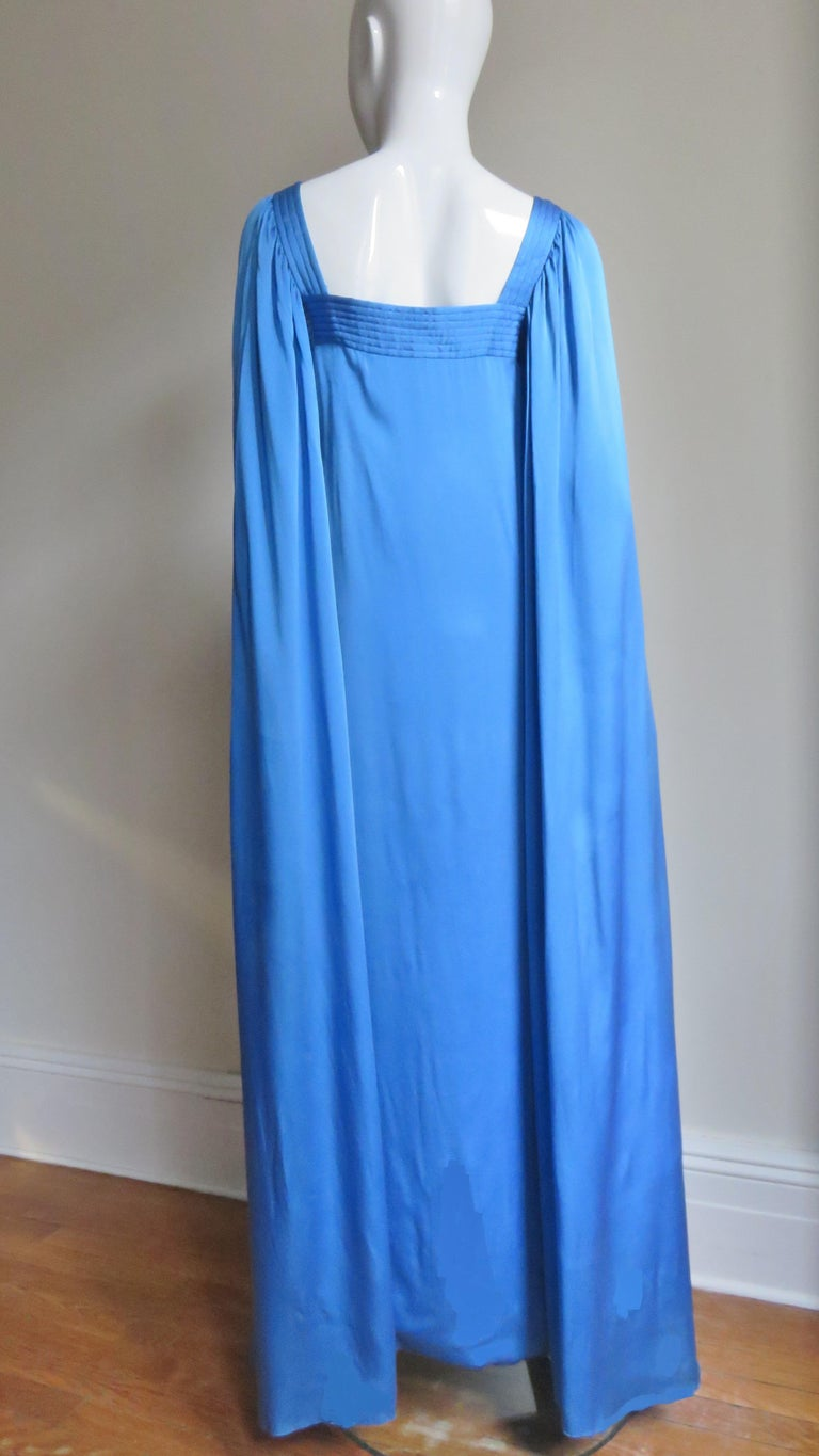 Mark Bohan for Christian Dior Couture Numbered Gown 1970s For Sale 9