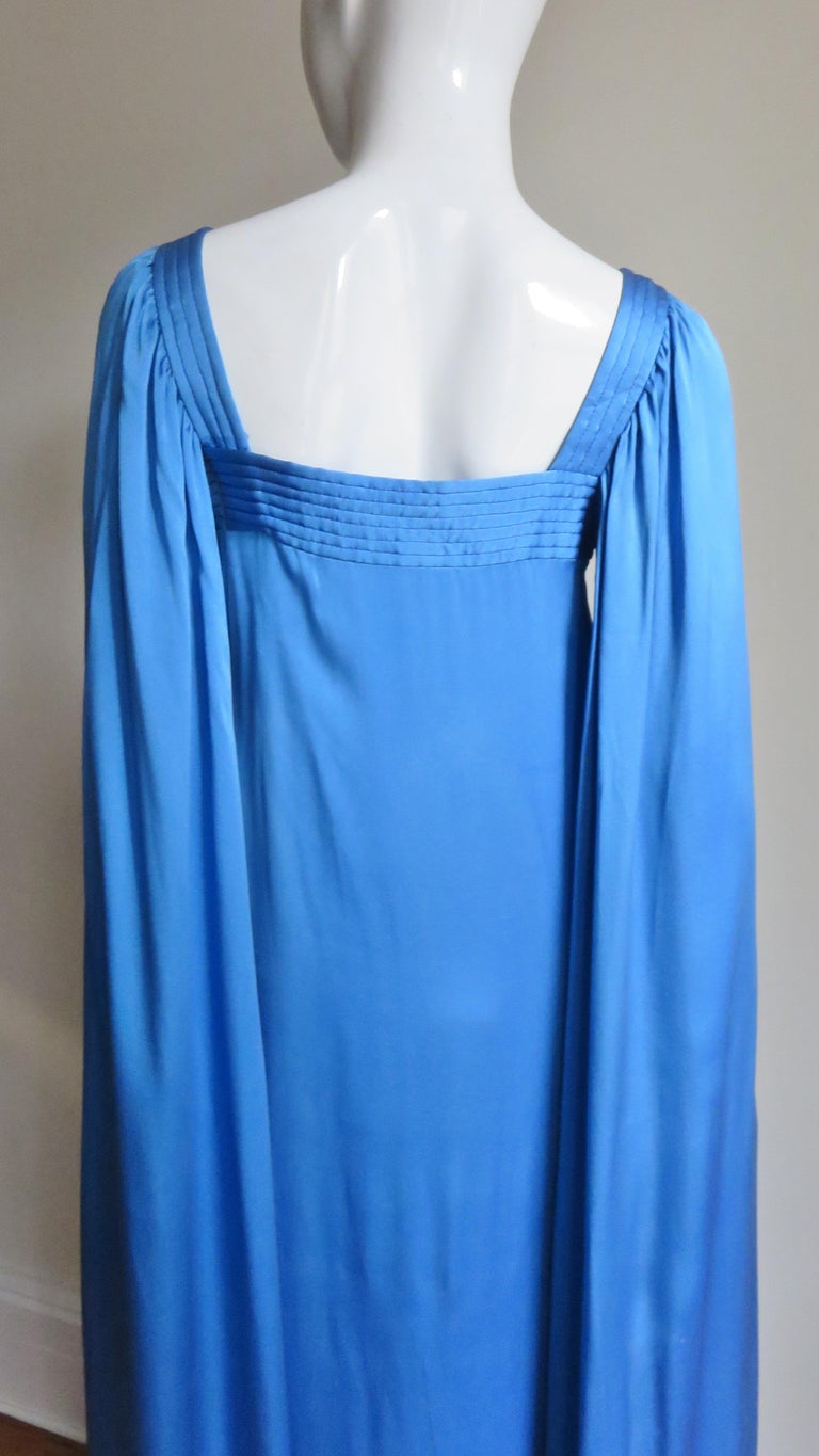Mark Bohan for Christian Dior Couture Numbered Gown 1970s For Sale 10