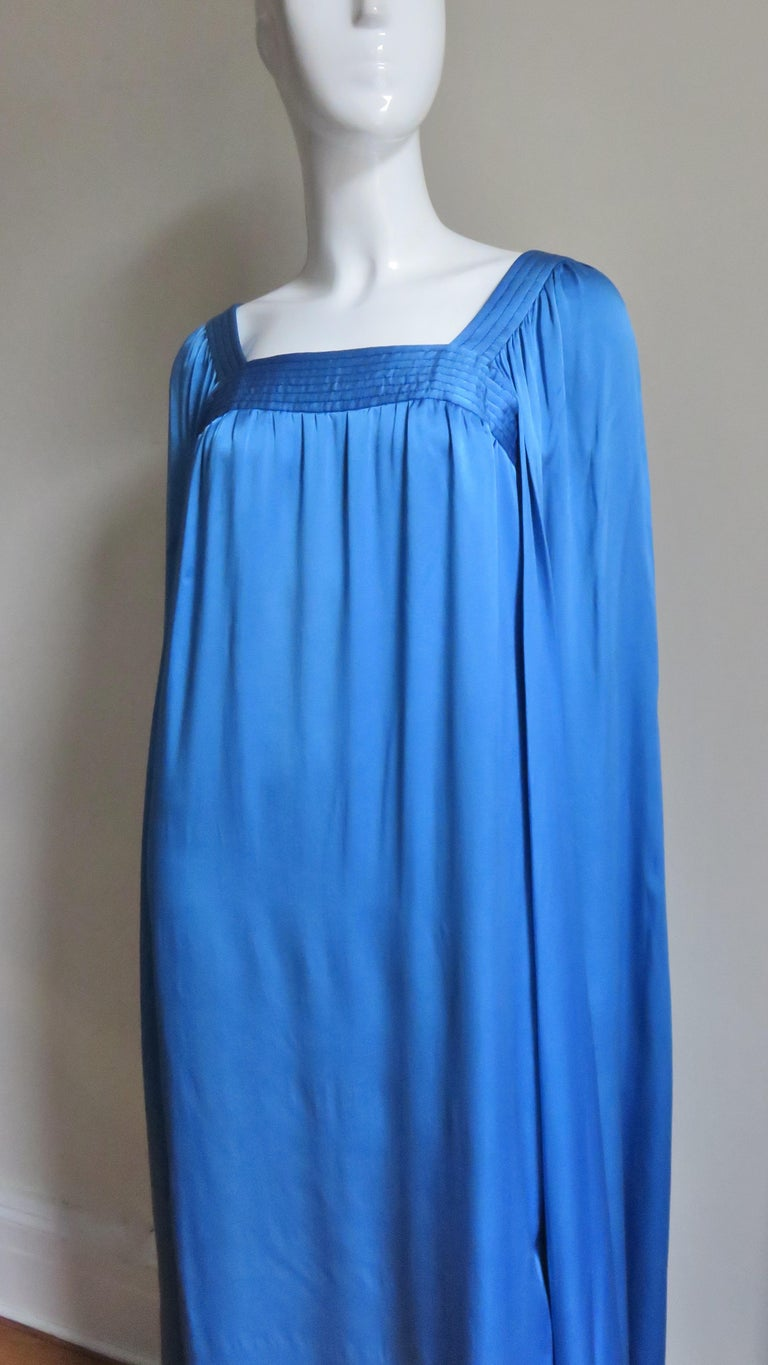Women's  Mark Bohan for Christian Dior Couture Numbered Gown 1970s For Sale