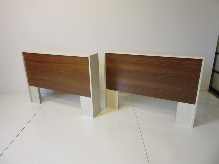 1970s Midcentury Twin Bed or King Headboards in the Style of Milo Baughman For Sale 4