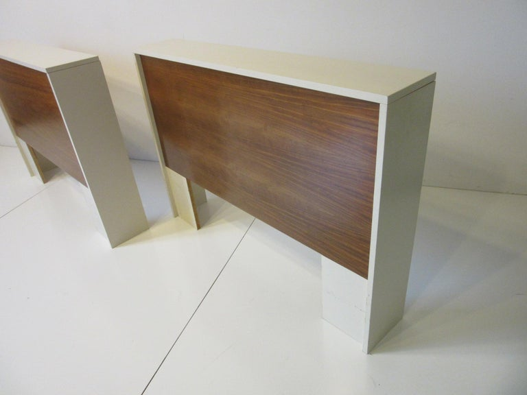 1970s Midcentury Twin Bed or King Headboards in the Style of Milo Baughman For Sale 1