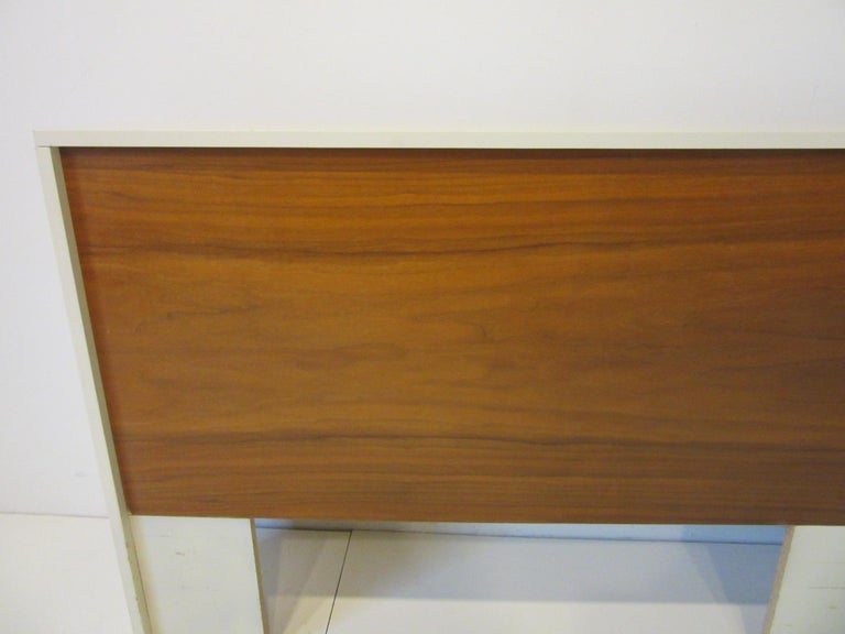 1970s Midcentury Twin Bed or King Headboards in the Style of Milo Baughman For Sale 2