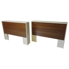 1970s Midcentury Twin Bed or King Headboards in the Style of Milo Baughman