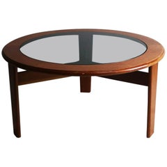 1970s Midcentury English Circular Coffee Table by G Plan