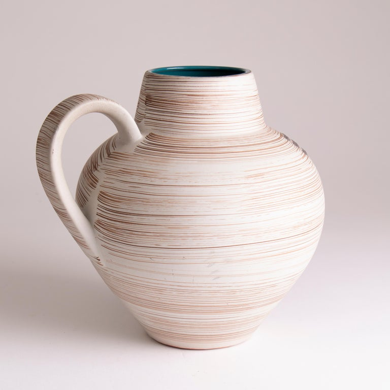 Mid-Century Modern 1970s Midcentury West German Abstract Pottery Vase by Carstens Tönnieshof