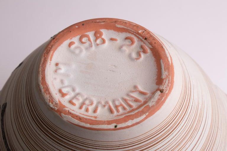 1970s Midcentury West German Abstract Pottery Vase by Carstens Tönnieshof 2