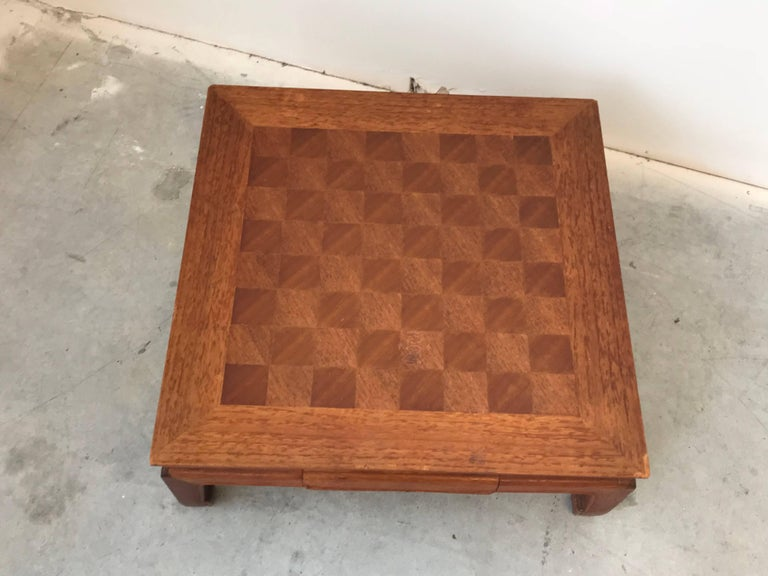 Chinoiserie 1970s Ming Style Chessboard For Sale