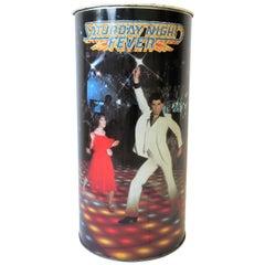 1970s Modern Disco Wastebasket or Umbrella Stand
