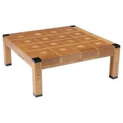 1970s Modern Geometric Coffee Table
