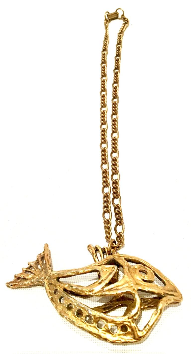 Women's or Men's 1970'S Monumental Gold