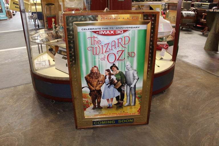 1970s Movie Theater Light Up Marquee Sign For Sale 9