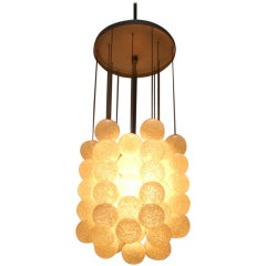 "1970s Napako ""Bubble"" Pendant Lamp, Czechoslovakia"