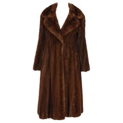 NORMAN NORELL for MICHAEL FORREST of New York sumptuous Natural Mink Coat