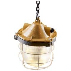 1970s OKS -1 Industrial Lamp