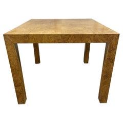1970s Olive Wood Table by Paul Mayen for Habitat