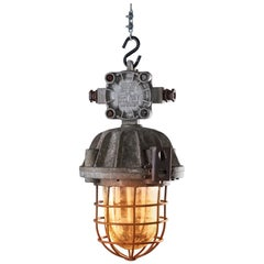 1970s OMP-300 Explosion-Proof Lamp Raw