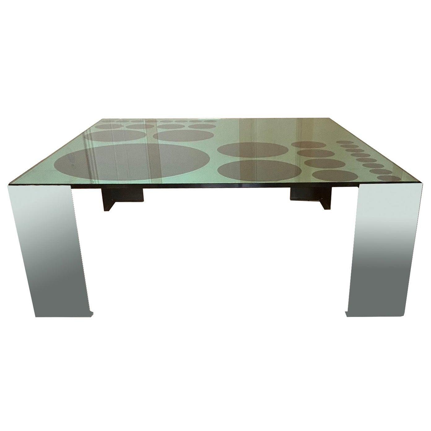 1970s Optical Coffe Table