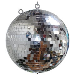 1970s Oversize Mirror Disco Ball
