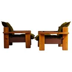 1970s Pair of Club Chairs, Czech Republic