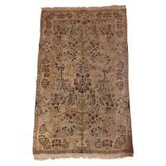 1970s Pakistani Wool Handwoven Carpet