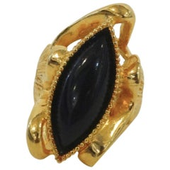 1970s Pauline Rader Oversized Cocktail Ring