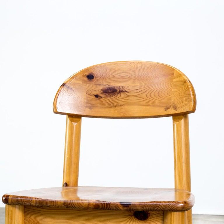 1970s Rainer Daumiller Pinewood Dining Chairs for Hirtshals Savvaerk, Set of 6 5