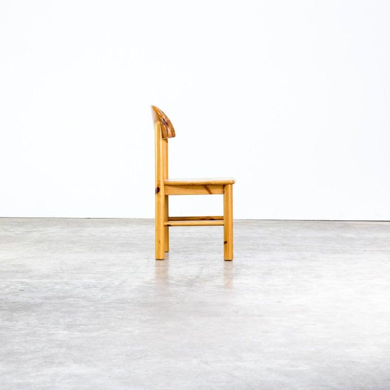 1970s Rainer Daumiller Pinewood Dining Chairs for Hirtshals Savvaerk, Set of 6 2
