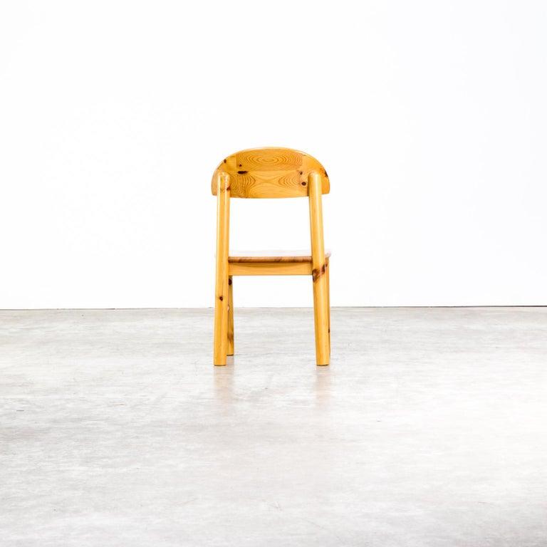 1970s Rainer Daumiller Pinewood Dining Chairs for Hirtshals Savvaerk, Set of 6 3
