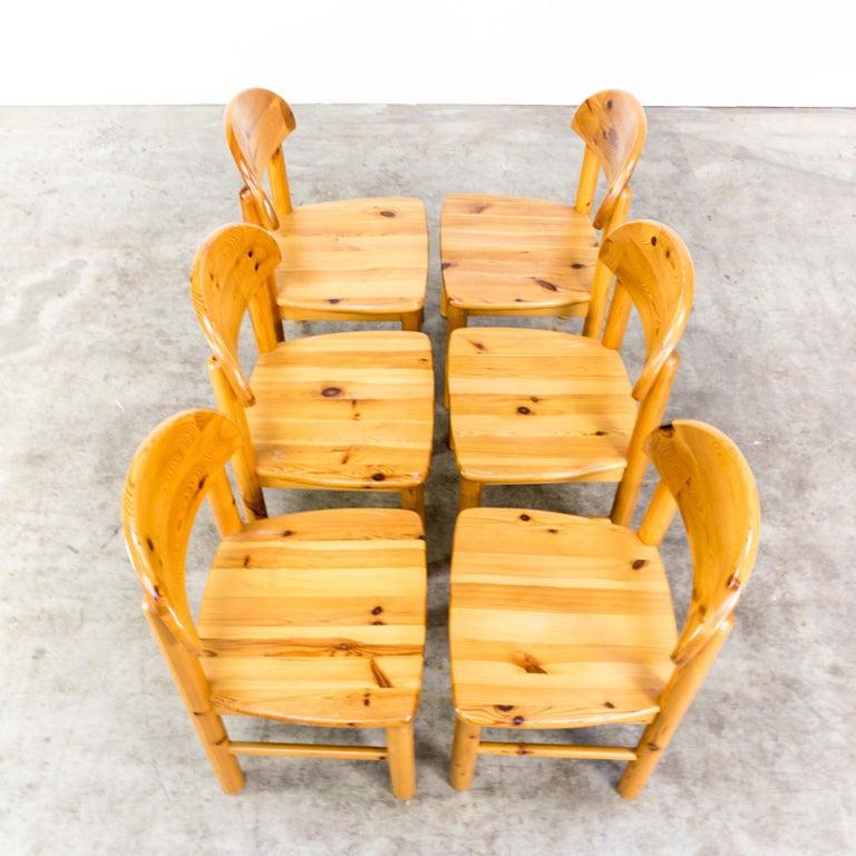 1970s Rainer Daumiller Pinewood Dining Chairs for Hirtshals Savvaerk, Set of 6 4