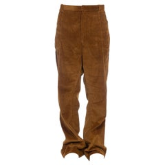 1970S Rare Mens Flared Corduroy Pants