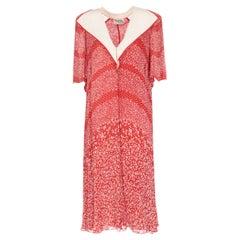 1970s Renato Balestra Printed Dress